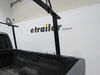 Buyers Products Truck Bed Ladder Rack w/ Load Stops - Black Aluminum - 800 lbs Aluminum 3371501680