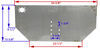 buyers products hitch fabrication parts plate 3371809040