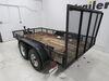 EZ Gate Tailgate Lift Assist for Open Landscape Trailers - 180 lbs Steel 3375201000