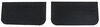 buyers products mud flaps universal fit - black rubber 24 inch wide x 12 tall 1/4 thick
