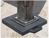 """Buyers Products Rubber Outrigger Pad 18"""" x 18"""" x 2"""" Outrigger Pads 337OP18X18R"""