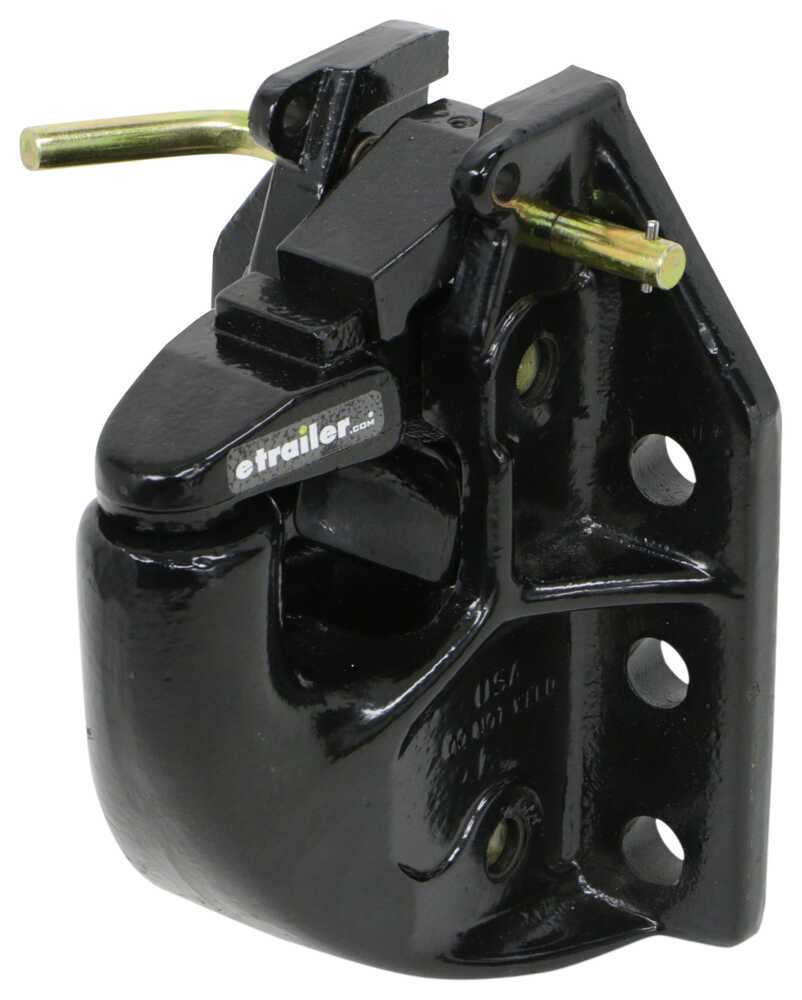 Pintle Hitch 337P45AC6 - Pintle Mount,Bumper Mount - Buyers Products