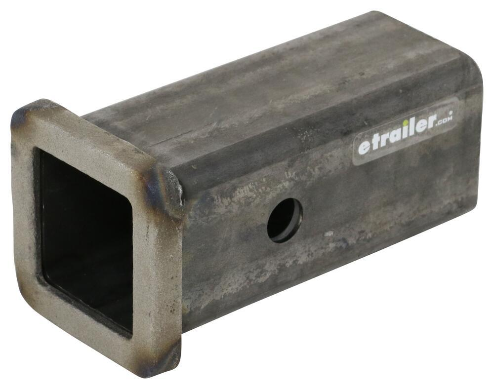 """Buyers Products Receiver Tube 2"""" I.D. x 6"""" Long and 5/8"""" Pin Hole 6 Inch Long 337RT25806"""