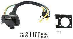 18-Inch Wesbar 707250 Round 7-Way to 5-Way Flat Female Adapter
