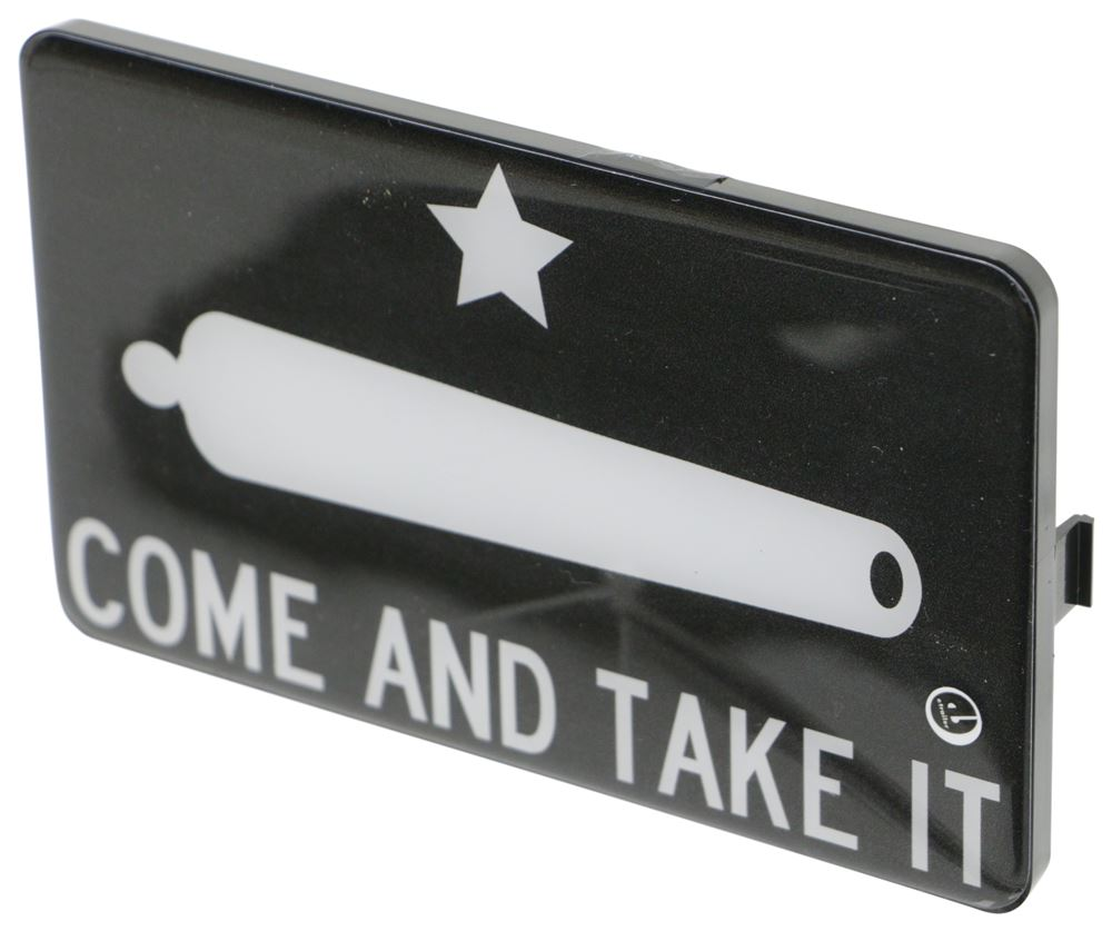 Come And Take It Faceplate for Bright Hitch Trailer Hitch Cover Faceplate 338CATI100-L