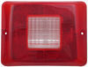 Replacement Lens for Bargman Tail Light - 84, 85, 86 Series - Clear Backup - Horizontal Mount Clear 34-84-711
