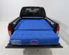 AirBedz Truck Bed Air Mattress w Tailgate Mattress and Pump - Blue - 5' to 5-1/2' Bed Covers Wheel Wells 341005 on 2011 Nissan Frontier