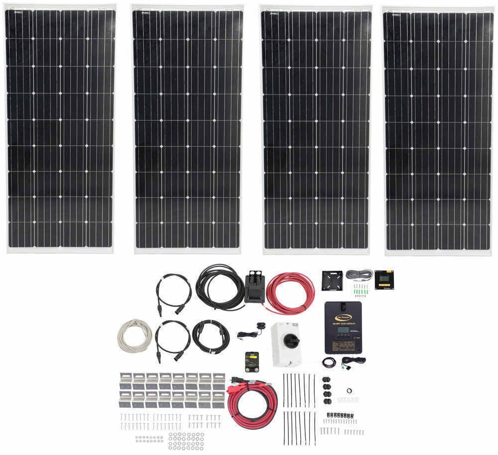 Go Power Solar AE-4 All Electric System with MPPT Solar Controller - 760 Watt Solar Panels 760 Watts 342-75010