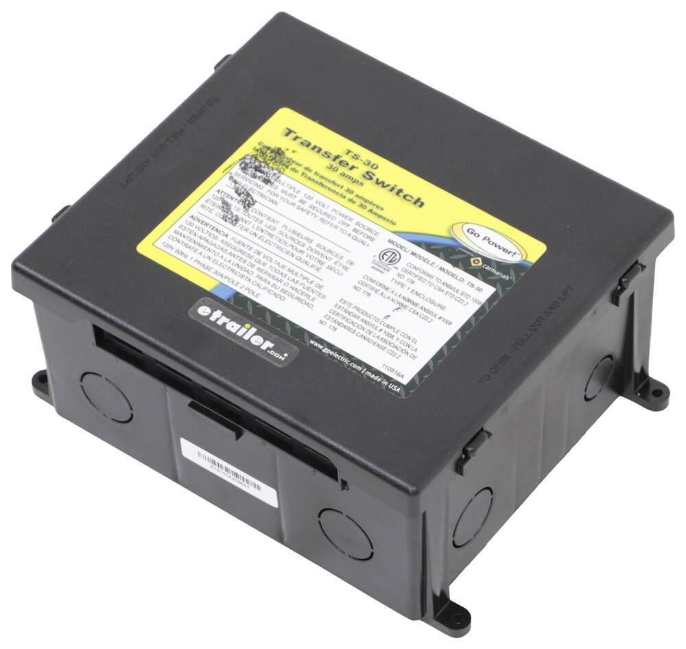 34264403 - 120V Go Power RV Transfer Switch