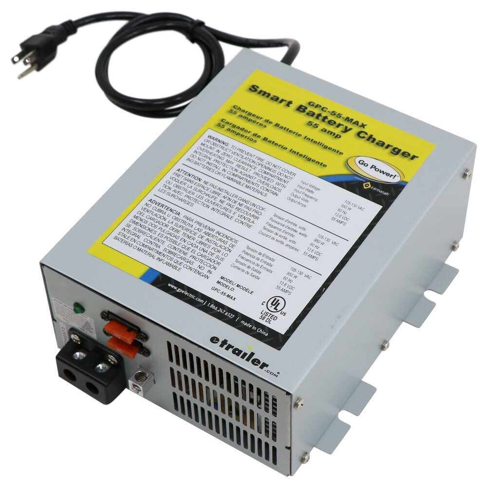 Go Power 55 Amps RV Converters - 34266169