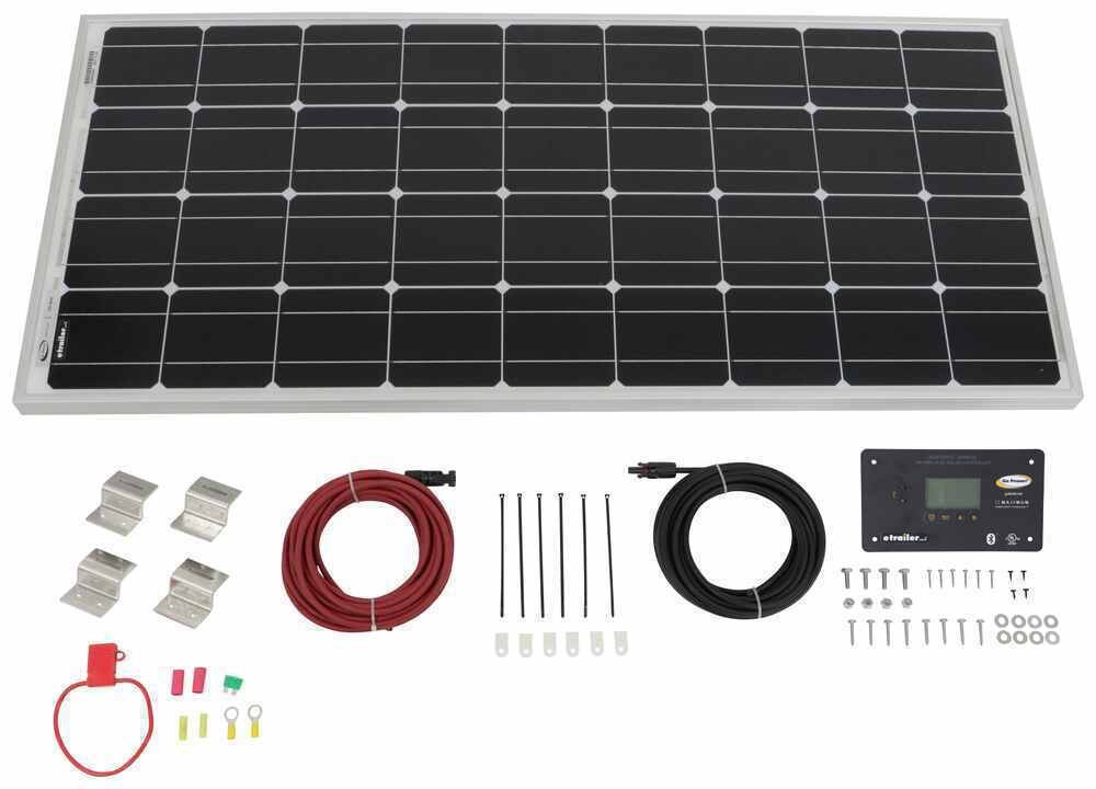 Go Power Roof Mounted Solar Kit - 34272635