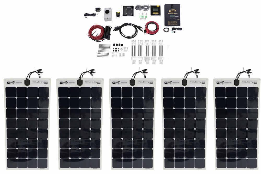 RV Solar Panels 34275012 - 5 Panels - Go Power