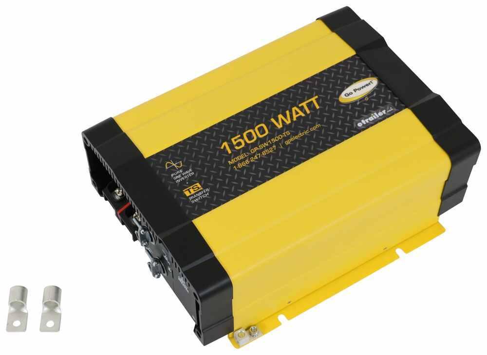 RV Inverters 34279458 - 1500 Watts - Go Power