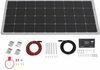 Go Power Overlander Solar Charging System with Digital Solar Controller - 190 Watt Solar Panel Rigid Panels 34282181