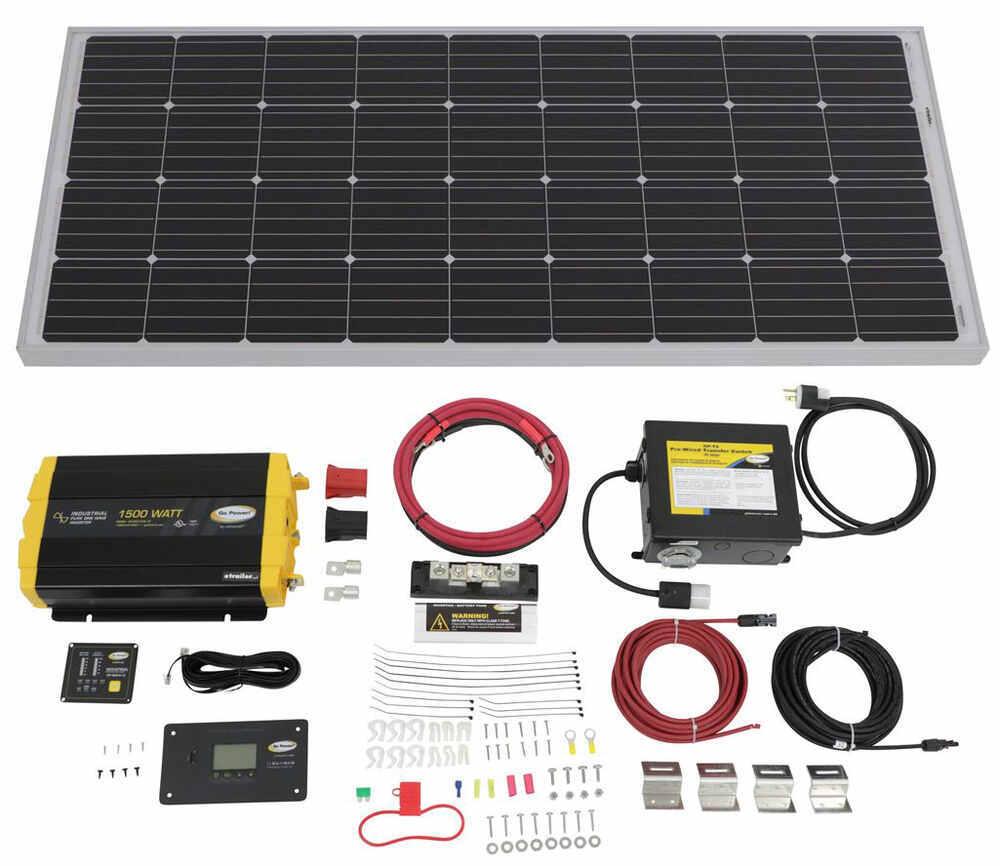Go Power RV Solar Panels - 34282183