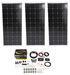 Roof Mounted Solar Kit w Inverter