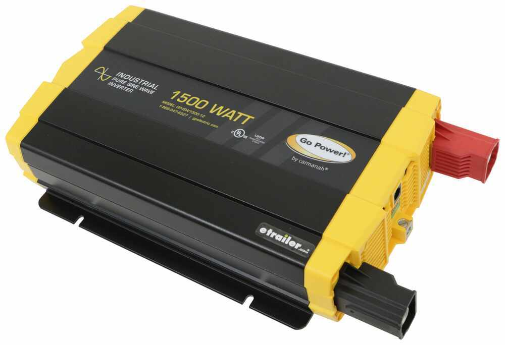 34279950 - 1500 Watts Go Power Pure Sine Wave Inverter