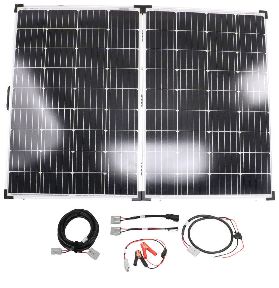 Go Power Portable Solar System with Digital Solar Controller - 200 Watt Solar Panel 200 Watts 34282610