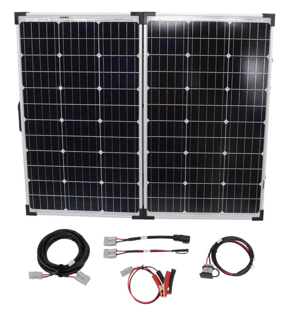 34282730 - 2 Panels Go Power Portable Solar Kit