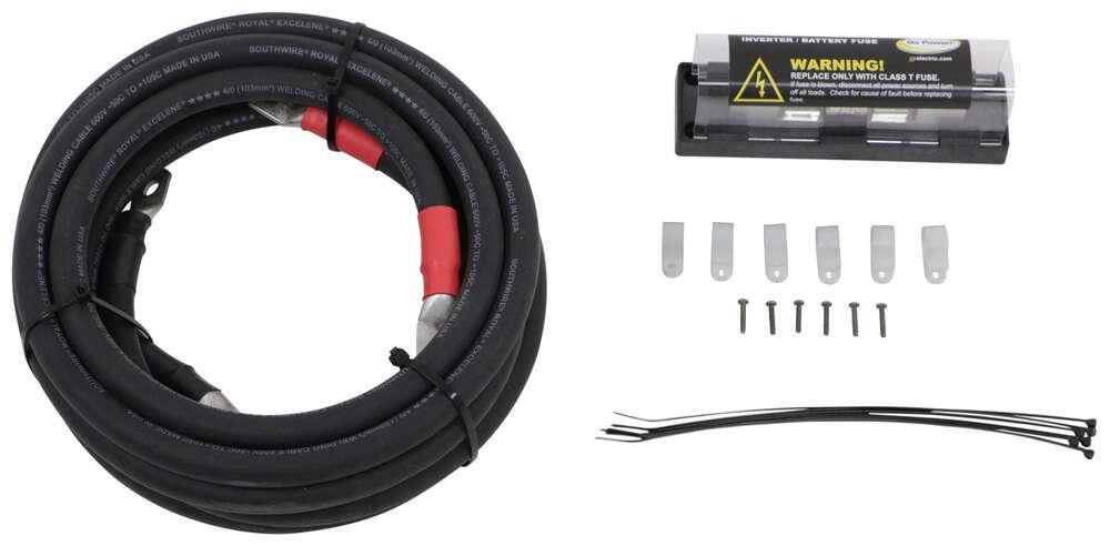 Installation Kit for Go Power Inverters - 400 Amp Fuse - 12V and 24V Installation Kit 342GPDCKIT5