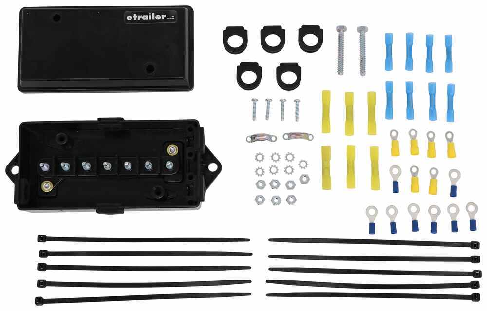 etrailer Installation Kit,Junction Box Accessories and Parts - 3430001-JBK