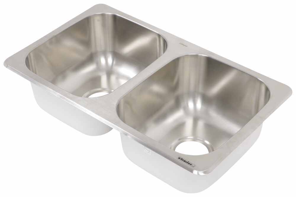 LaSalle Bristol Stainless Steel RV Sinks - 34413TLSB27167