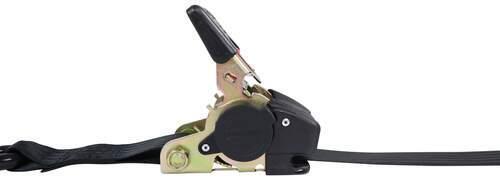 "Erickson Re-Tractable Ratchet Straps w/ Push Button Releases - 2"" x 6' - 1,333 lbs - Qty 2 2 Straps 34414"