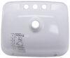 "LaSalle Bristol Single Bowl RV Bathroom Sink - 14-3/4"" Long x 12-1/4"" Wide - White Rectangular Sink 34416186PWA"