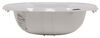 "LaSalle Bristol Single Bowl RV Bathroom Sink - 20"" Long x 17"" Wide - White White 34416305PWA"