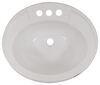 LaSalle Bristol White RV Sinks - 34416305PWA