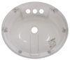 34416305PWA - White LaSalle Bristol Bathroom Sink