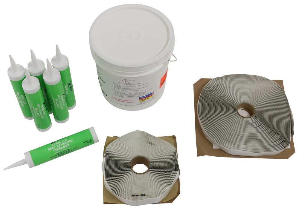 LaSalle Bristol PVC Membrane RV Roof Repair - 3442703414KIT