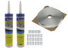 344270KITW - Vent Install Kit LaSalle Bristol RV Vents and Fans