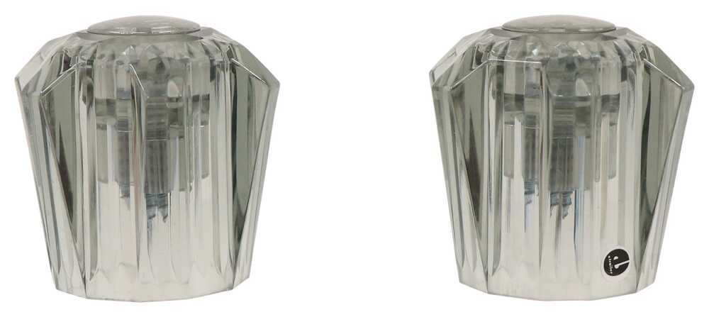 LaSalle Bristol Utopia Replacement Faucet Knobs - Small - Smoke - 1 Pair Handles and Knobs 34439010