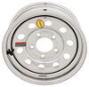 taskmaster trailer tires and wheels wheel only 5 on 4-1/2 inch steel modular - 13 x rim silver pvd finish