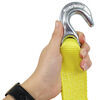 """SmartStraps Recovery Strap w/ Hooks - Retractable - 2"""" x 14' - 3,000 lbs 14 Feet Long 348171"""