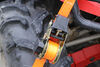"SmartStraps Retractable Ratchet Tie-Down Straps - 1-1/4"" x 10' - 1,000 lbs - Qty 2 1-1/8 - 2 Inch Wide 348173W"