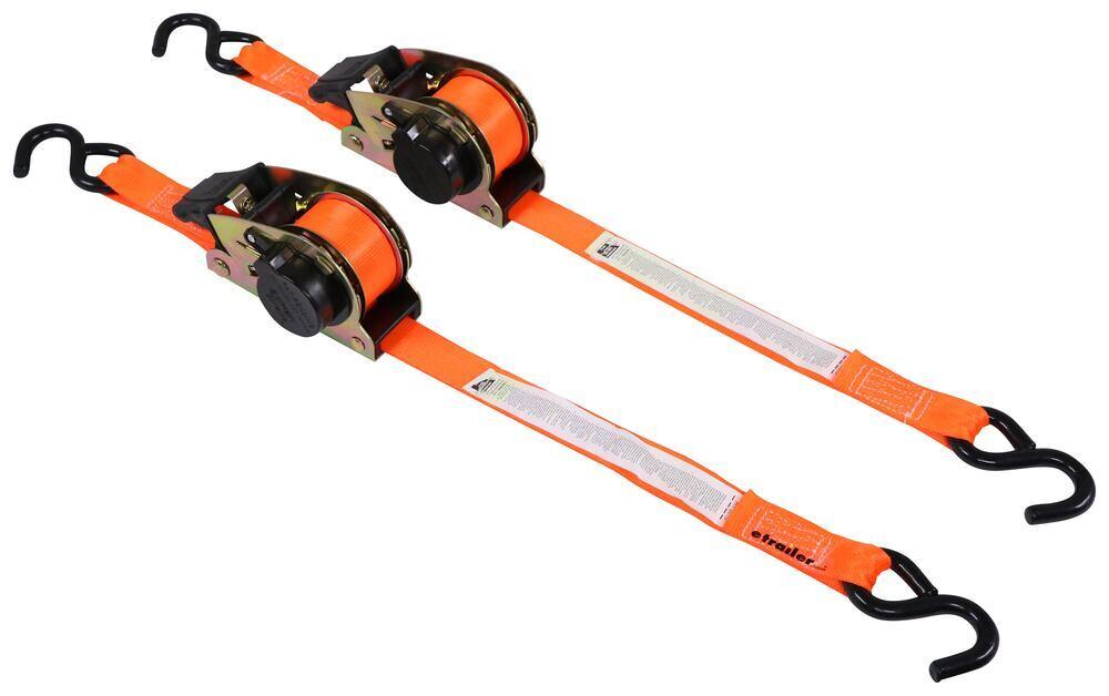 348173W - S-Hooks SmartStraps Ratchet Straps