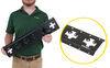 cargosmart e track e-track rails horizontal or vertical x-track - matte black steel 667 lbs 2' long