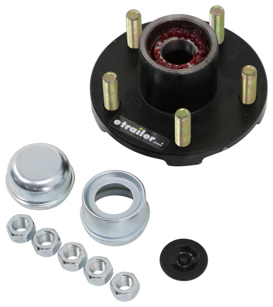 Dexter Trailer Idler Hub Assembly for 2,000-lb Axles - 5 on 4-1/2 L44643 34822545BX