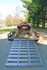 """CargoSmart Tri-Fold Loading Ramp - Aluminum - 77"""" x 50"""" - 1,500 lbs 1500 lbs 3483075"""