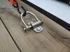 """CargoSmart Removable D-Ring Tie-Down Anchor - Bolt On - 1/2"""" x 3-3/8"""" - 3,666 lbs Surface Mount - Bolt-On 3486510"""