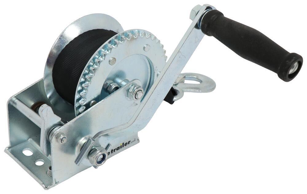 TowSmart Standard Hand Crank Trailer Winch - 348776