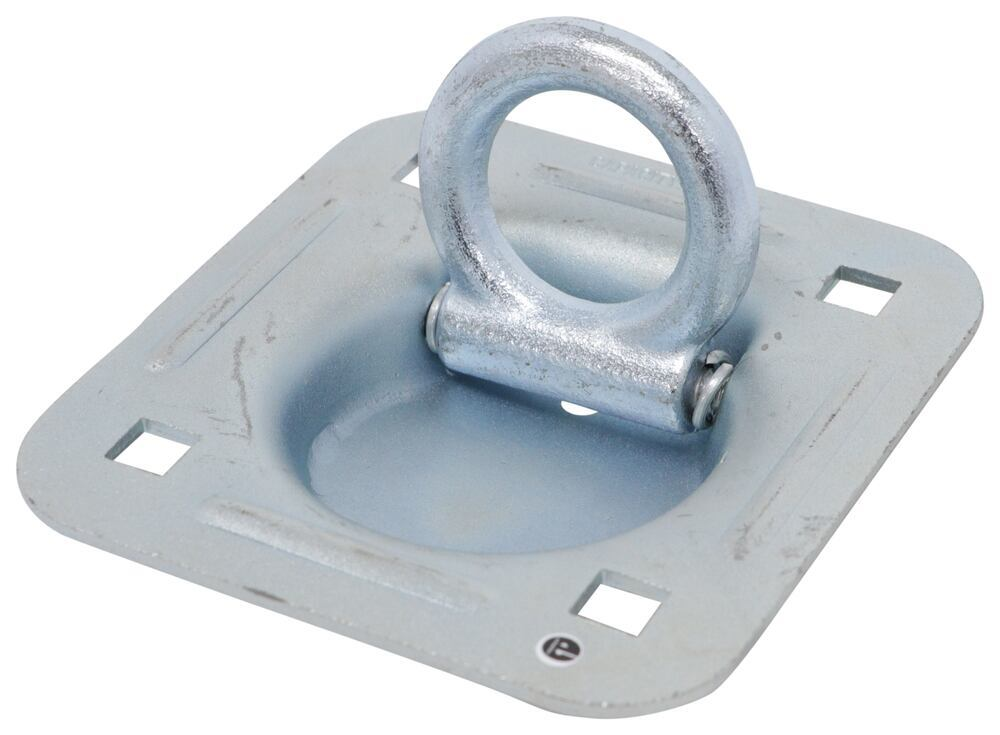 """CargoSmart Recessed D-Ring Tie-Down Anchor - Bolt On - 3/8"""" x 2-1/8"""" - 1,667 lbs D-Ring 348809"""