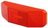 Bargman Replacement Lens for 99 Series Clearance Lights - Red Rectangle 3499010