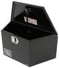 RC Manufacturing T-Series Trailer Tongue Tool Box - A-Frame - Steel - 2.6 Cu Ft - Black 30 Inch Long 350980