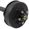 "Dexter Trailer Axle w/ Electric Brakes - EZ-Lube - 5 on 4-1/2 Bolt Pattern - 89"" - 3,500 lbs EZ-Lube Spindles 35545E-ST-EZ-89"