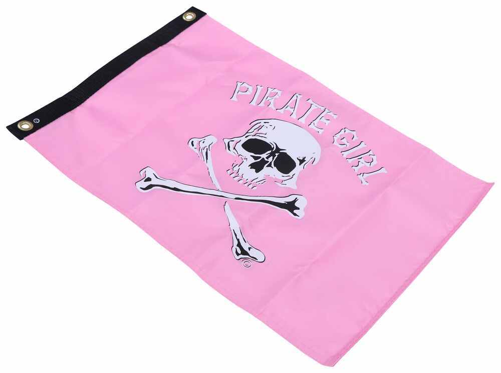 """Taylor Made Pirate Boat Flag - Pirate Girl - 12"""" Tall x 18"""" Long - Nylon 12 Inch Tall 3691801"""