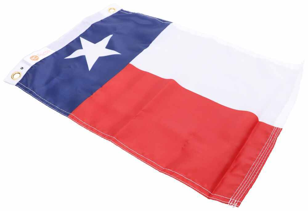 """Taylor Made Texas Boat Flag - 12"""" Tall x 18"""" Long - Nylon Blue,Red,White 3692318"""