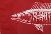 "Taylor Made Fishing Boat Flag - Wahoo - 12"" Tall x 18"" Long - Nylon Marine Life 3694118"